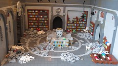 "Library-empty (Deus ""Big D."" Otiosus) Tags: urban skeleton dragon lego time library dragons dungeon adventure dd exploration skeletal dungeons dnd gladiator urbex moc at"