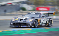 Dodge Viper Racing Le Mans 2016 V2V ( Mathieu Pierre photography) Tags: monochrome sport de automobile noir voiture racing course mans le dodge viper bugatti et circuit extrieur blanc 2016 vhicule v2v