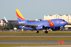 Southwest   737-700   N409WN   MCO (Justin Pistone) Tags: southwest one orlando airport florida international crown boeing airlines triple mco 737 737700 kmco n409wn