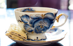 Russian Teacup (The Rose Coloured Lens) Tags: party coffee cookies afternoon time tea antique biscuit biscuits teacup russian teatime teaparty