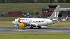 IMG_6215 1920s (Tangoman11) Tags: birmingham aircraft monarch boeing jt 737 b737 bhx jettime oyjty