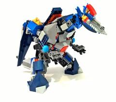 70327 - kings mechdragon02 (chubbybots) Tags: king lego mech moc nexoknights