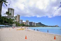 CNXD_HWI_0692 (Ikuhito) Tags: ocean building beach hawaii waikiki oahu palmtree diamondhead
