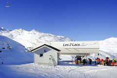 Les 2 Lacs (A. Wee) Tags: france alps valthorens chairlift  troisvalles les3valles 2lacs les2lacs