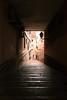 pasaje (amargureiro) Tags: street city rain stairs dark calle alley nikon rainy rua 1870mmf3545 d80