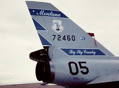 Convair F-106A Delta Dart--Tail of the Dart (Sentinel28a1) Tags: greatfalls convair f106 deltadart montanaang montanaairnationalguard greatfallsinternationalairport 120thfighterwing 120thfig