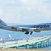 Cargolux Italia Boeing 747-400F freighter at KIX (LX-YCV)