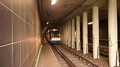 Boven water komen (Peter ( phonepics only) Eijkman) Tags: city holland netherlands amsterdam transport nederland tram rail tunnel rails trams noordholland gvb combino nederlandse