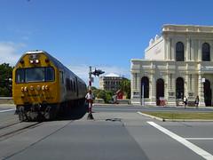 Dunedin Silverfern Railcar (geoffreyw@kinect.co.nz) Tags: railcar dunedin 24 oamaru rm silverfern