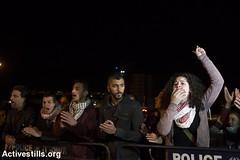 Solidarity with hunger striker Mohammed al-Qiq, Afula, Israel, 10.2.2016 (activestills) Tags: youth israel women protest demonstration occupation politicalprisoners hungerstrike orenziv topimages palestinians48 prisonerssolidarity