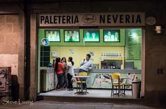 Ice cream store (stephen.lustig) Tags: mexico streetphotography oaxaca nightscene
