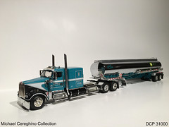"Diecast replica of Ankrum Trucking Kenworth W900 with ""Air BP"" fuel tanker, DCP 31000 (Michael Cereghino (Avsfan118)) Tags: truck toy model die w semi replica cast inc tanker 900 trucking promotions kenworth diecast dcp 31000 w900 ankrum w900l"