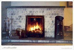Simple Pleasures - a log fire! (Elisafox22) Tags: home lens fire cozy fireplace sony logs pa 1855 cosy simplepleasures nex6 promptaddicts elisafox22 elisaliddell©2016