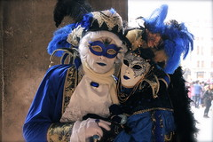 Una strana coppia (...my point of view) Tags: carnevale venezia coppia strana 2016