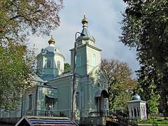 Храм прп.Серафима Саровского в Пуще-Водице