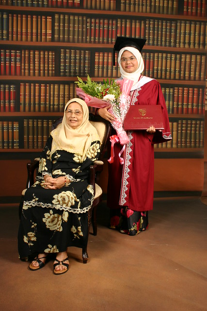 Graduation day~! Alhamdulillah