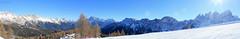 Falcade 2016 (*Valentina.) Tags: winter sky panorama sun snow montagne canon eos january cielo panoramica neve sole inverno sanpellegrino dolomiti gennaio montains falcade d550 moena valdifassa trentinoaltoadige
