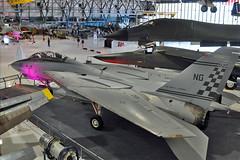 F-14A Tomcat BuNo 159829 (skyhawkpc) Tags: airplane nikon colorado aircraft aviation navy denver co naval usnavy usn allrightsreserved tomcat wor grumman 2015 d90 f14a vf211checkmates 159829 wingsovertherockiesairandspacemuseum ng102 garyverver