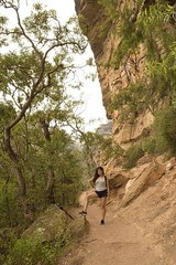 A Day @ Wentworth Falls 'National Pass Walking Trail full loop' with my wife Gie (allancastroYD810) Tags: escape serene