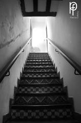Escaleras (-Patt-) Tags: old blackandwhite bw blancoynegro bn montevideo antiguo veraneo chinazorrilla museozorrilla