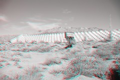 John B. Robert Dam in Albuquerque NM (CaptDanger) Tags: newmexico 3d albuquerque anaglyph redblue 3dglasses albuquerquenm 3dimensional redblue3d 3dimages 3dimage 3dphotography 3dpicture anaglyph3d breakingbad breakingbadlocation redblueglassesneeded newmexicofilminglocation