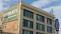 The Goldblatt's Building, 47th and Ashland (artistmac) Tags: city chicago fashion store illinois furniture quality il goldblatts seniorapartments famsa