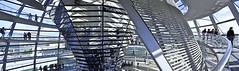 Cross Section (AntyDiluvian) Tags: trip building berlin architecture germany deutschland ramp cone parliament reichstag dome mirrored 2015