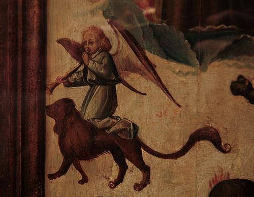 Gent, Oost-Vlaanderen, Museum voor Schone Kunsten, anonymous 15th-century French master, last judgment, detail