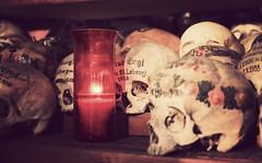 Karner (CA_Rotwang) Tags: world friedhof alps heritage church graveyard skulls austria sterreich religion kirche ossuary bones alpen halstatt weltkulturerbe knochen schdel gebeinhaus