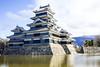 Matsumoto Castle -2 (f.rohart) Tags: longexposure blue castle water japan clouds holidays outdoor jo filter jp nd matsumoto japon nd400 naganoken canonef24105mmf4lisusm ndx400 matsumotoshi canon7dmarkii