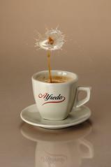 Coffee with Milk (alfredo.baginski) Tags: coffee milk kaffee drop alfredo tat tropfen milch
