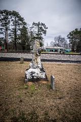 Bubba Statue-005 (RandomConnections) Tags: church cemetery southcarolina ward methodist spannmethodistchurch