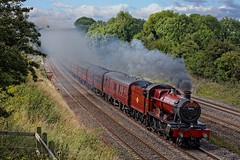 Lady In Red (D1059) Tags: hall 460 britishrailways hogwartsexpress southstoke 5972 hogwartscastle uksteam oltonhall gwml 1z59 0923paddingtonoxford