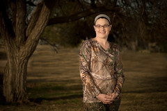 60-366 (garyinhere) Tags: woman oklahoma woods purple unitedstates sony flash hunting chicks ttl fargo cammo hss a99