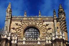 Seville Cathedral, Spain (Catedral de Sevilla, Espaa) (j_santander74) Tags: espaa architecture canon sevilla spain arquitectura cathedral gothic catedral iglesia seville canonrebel gotico catedraldesevilla patrimoniodelahumanidad sevillecathedral canonrebelxsi rebelxsi canonrebelxsi450d catedraldesantamariadelasededesevilla