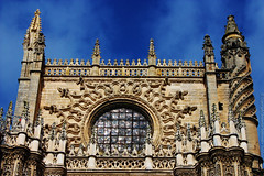 Seville Cathedral, Spain (Catedral de Sevilla, España) (j_santander74) Tags: españa architecture canon sevilla spain arquitectura cathedral gothic catedral iglesia seville canonrebel gotico catedraldesevilla patrimoniodelahumanidad sevillecathedral canonrebelxsi rebelxsi canonrebelxsi450d catedraldesantamariadelasededesevilla