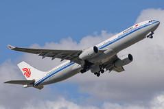 Air China Airbus A330 B-5906 (j.borras) Tags: barcelona china cn airplane air bcn airbus takeoff runway a330 spotting departing lebl b5906