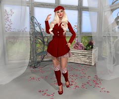 Convivi by Flippant (lauragenia.viper) Tags: red mayfly flippant eternaldream littlebones secondlifefashion lumipro posefair welovetoblog thetracetoo