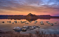 Lake Powell, Arizona (swissukue) Tags: sunset arizona landscape flickr sony ngc explore a7 lakepowell bestcapturesaoi elitegalleryaoi flickrclickx ilce7