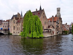 Bruges - Canal (Martin M. Miles) Tags: canal belgium brugge willow bruges hanse westflanders veniceofthenorth hanseaticleague bruegge cogship flemishregion