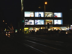 2016.03.04 Night lights, Prague (PragueWalker) Tags: street trip light tourism night walking photo prague photos prag praha tschechien tourist wenzelsplatz wenceslassquare vclavsknmst tourists czechrepublic tours praag 2016 praguephotos piazzasanvenceslao   placevenceslas kosktrh privateguides