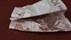 half a bill ( mpg) Tags: money macro closeup found lost bill lostandfound lostfound macromondays exquisiteimage saariysqualitypictures 52weeksthe2016edition mpg2016 week102016 weekstartingfridaymarch42016 halfabill