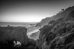 enough with spring snow storms--I'm going to the beach! (andy_8357) Tags: ocean california longexposure blue sky bw beach water long exposure state pacific sony horizon el malibu clear mount e hour cave alpha matador crag nex mirrorless a6000 emount sel1650 ilce6000 ilcenex
