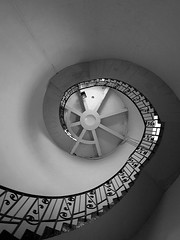Lighthouse Steps (cngphotographic) Tags: light sea lighthouse lamp architecture stairs lens george kent king shingle steps shoreline reserve grade structure historic safety shore finepix fujifilm dungeness guide shipping 169 1904 listed