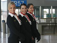 33 (SuckTheButton) Tags: whiteshirt blouse stewardess uniform scarf azafata uniforme camisablanca