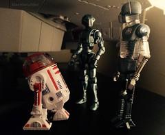 R3-A2, HK-50 & 2-1B (Macroworlder) Tags: star disney astro medical wars droid hasbro assassin astromech droids 21b r3a2 hk50