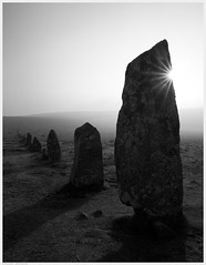 _DSC6230ed (alexcarnes) Tags: art alex megalithic monument stone bronze early nikon hill sigma down row devon age flare f2 tor dartmoor megaliths funerary monoliths diffraction sunstar carnes d810 monumentality hingston 2435mm alexcarnes
