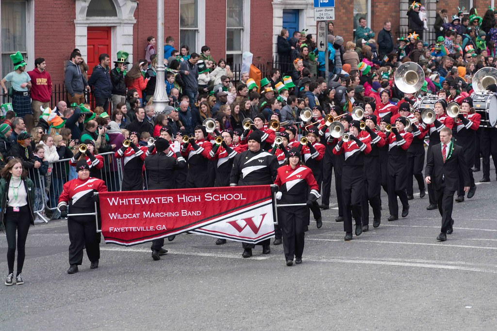 WHITEWATER HIGH SCHOOL WILDCAT MARCHING BAND [PATRICK'S DAY 2016]-112481