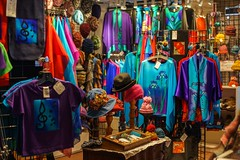Many Colors (claudeallaert) Tags: ottawa hats manualfocus bywardmarket clothingshop ottawadowntown carlzeissplanar1750 sonyilce7