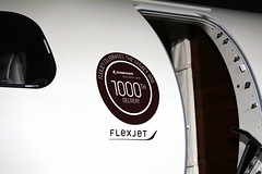 Flexjet/Embraer 1000th Delivery (embraerflexjet) Tags: usa florida aviation melbourne redlabel embraer privatejet flybywire flexjet corporatejet legacy500 embraerlegacy500 flexjetlegacy500